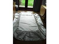 Silk Ivory Bedding Set