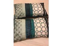 Teal Coloured Cushions