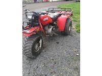 Honda trike 250es farm bike