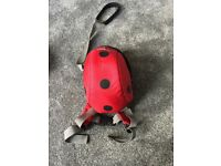 LittleLife ladybug toddler backpack and reins excellent condition