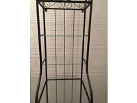 Black Ikea Display Shelving Unit