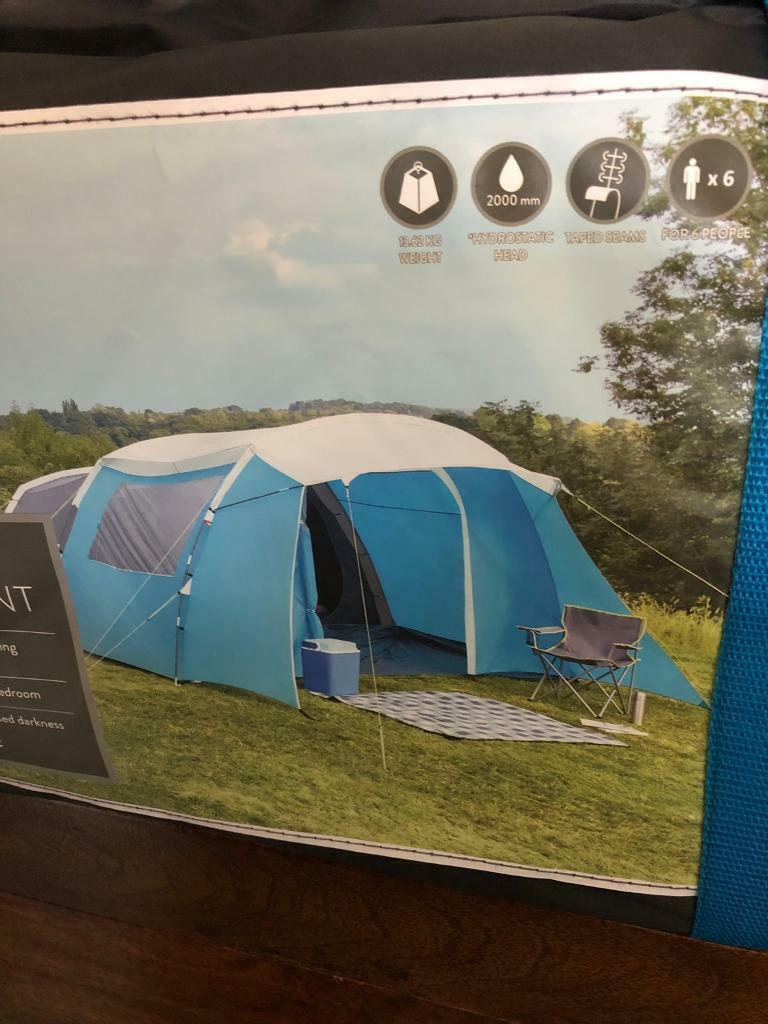 6 Man Family tent as new | in Hartlepool, County Durham | Gumtree