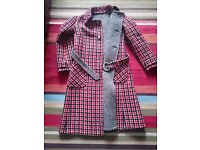 Reversible vintage coat