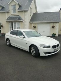 2012 BMW 520d Efficient Dynamics White