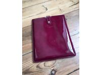 LK Bennett iPad sleeve - very posh, very expensive and in immaculate condition!