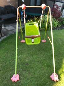 Children's Soulet Foldable baby swing