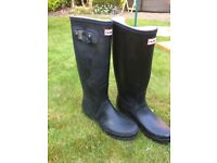 Men's Hunter original black wellies