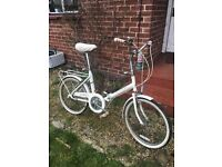Raleigh shopper folding bike