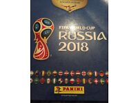 Panini 2018 World Cup stickers - for swap or sale