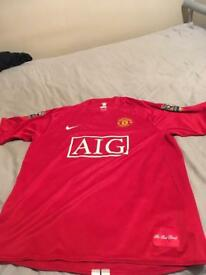 Ronaldo signed Manchester United top