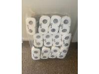 Job Lot of 12 Packs of 4 Toilet Roll (48 total)