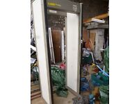 garrett walk through metal detector MADE IN USA
