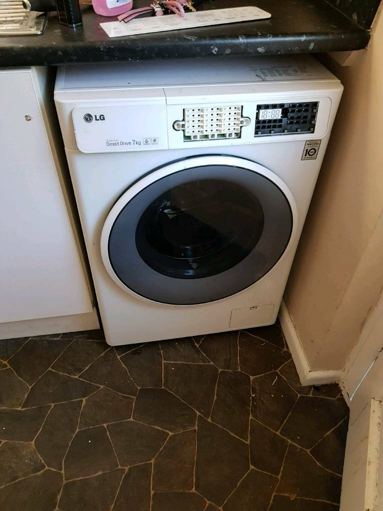 Lg washer 18 months old