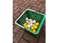 Golf Balls & Basket 3 available