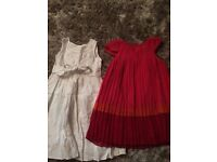 Two Girls dresses age 2-3