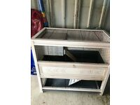Rabbit hutch or Guinepigs Cage
