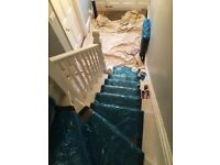 Painter and Decorator in Brighton-Woodwork Restoration-Wallpapering-Plaster Skimming-Painter in Hove