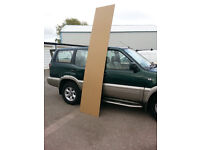 Chipboard Sheeting..8x2...up to 9.10ft...12mm thick (water proof & Fireproof) £2 a sheet