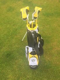 Junior Golf Clubs and Bag - Fazer J Tek 3.0