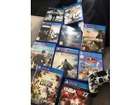 Playstation4 + 17 games !