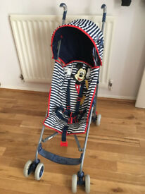 Disney Mickey Mouse pushchair for £15