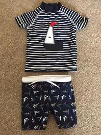 Next boys swim outfit 3-6 months
