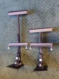 A pair of adjustable wall speaker brackets. £5 no offers.