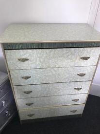 Art Deco Five drawer dresser
