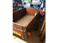 Good condition car trailer with cover