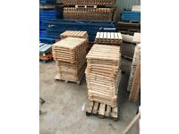 Heavy Duty Pallet Racking Timber Wood Decking Boards fitting 750mm Racking