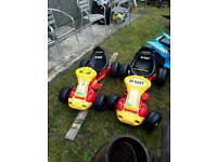 Electric go kart and one for spares