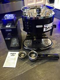 Delonghi coffee machine with delonghi coffee grinder espresso