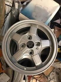 Nissan Micra 13 inch set of 4 alloys ET38 6Jx14h2