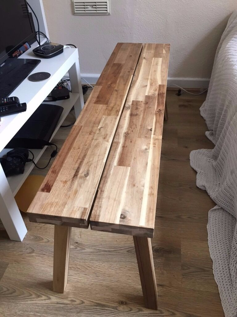 ikea skogsta bench coffee table for sale urgent in