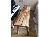 IKEA SKOGSTA bench/coffee table for sale - URGENT