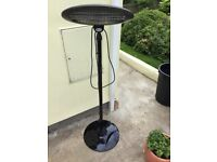 Patio heater - electric