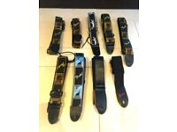 Fender Guitar Strap Bundle – 9x Straps – Postage Available