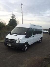 FORD TRANSIT 15 SEATER MINIBUS##DIRECT FROM COUNCIL##