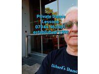 Dance lessons Latin dance, RocknRoll & more. Private