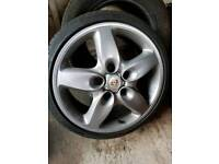porsche cayenne wheels with 5x100 to 5x130 adapters