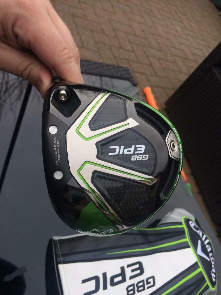 callaway Big Bertha Epic Driver 9 degree stiff hzrdus