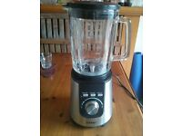 Duronic BL1200 Blender (RRP £200) 1200w, 1.8l glass jug w/ Auto-Clean, Ice Crush, Smoothie Functions
