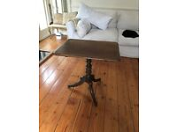 Antique Table - flips up.