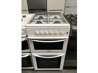 BELLING free standing full gas cooker 50 cm Width twin Cavity in good condition and perfect working