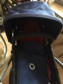 Bugaboo Chameleon 2 with CarryCot and car seat adaptors included