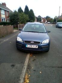 Ford focus estate 06 plate 695ono