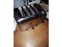 Dualit four slice toaster