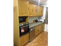 Used kitchen. Wooden Doors. Good condition