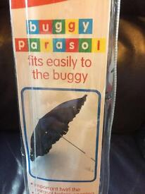 Buggy parasol sun shade brand new in packaging