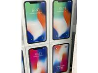 iPhone X 256gb brand new box 1 year apple warranty open on all network